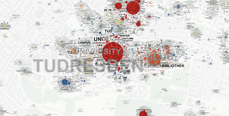 TU Dresden Campus Emoji-Tag_Map